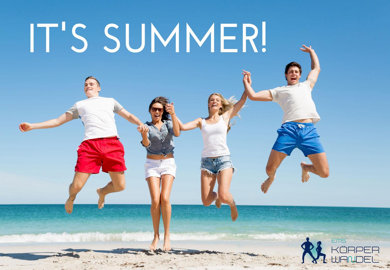 Summer Special: 1 Monat EMS-Training zum Testpreis!